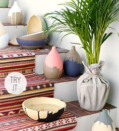 Painted Vases by IKEA Life At Home