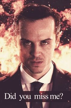 Moriarty speaks louder than words