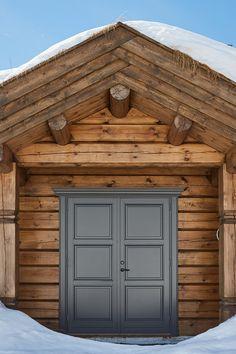 Garage Doors, Cabin, Outdoor Decor, Home Decor, Decoration Home, Room Decor, Cabins, Cottage, Home Interior Design