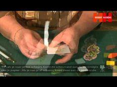 ▶ HobbyHandig geeft instructie over embossingfiguren inkleuren met stempelinkt - YouTube