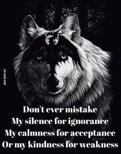 Wise wolf