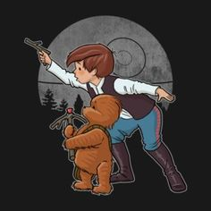 Christopher Han and Wookiee the Pooh.