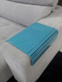 Esteira de descanso para braço de sofá! Disponível em várias cores. http://www.moradamoveis.com/
