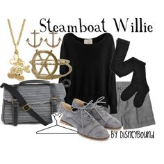 """""""Steamboat Willie"""" by lalakay on Polyvore"""