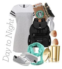"""T-Shirt Dress"" by eventer4ever428 ❤ liked on Polyvore featuring mode, Converse, MANGO, Sherpani, ModestlyChic Apparel, Tommy Hilfiger, Dolce&Gabbana en DayToNight"