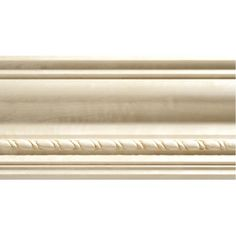 0.5-in x 3.75-in x 8-ft Interior Stain Grade Whitewood Crown Moulding (Pattern 1631A)
