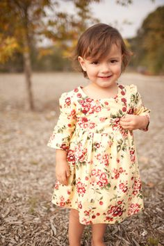 INSTANT DOWNLOAD Ella Dress sizes 6/12 to months to 6 PDF