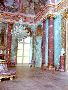 Salon de Mars (permettant d'accéder à la galerie d'Apollon).