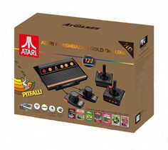 Amazon.com: Atari Flashback 8 Gold Deluxe with 120 Games - Includes 2 Controllers and 2 Paddles - GameCube: Video Games