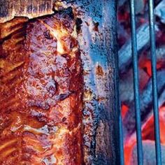 Cedar Plank-Grilled Salmon Recipe