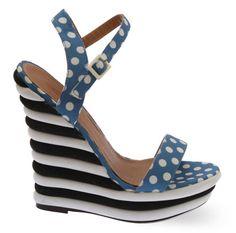 Dolcis EVA Bubble Damen Platform Schuhe mit Keilabsatz, Blau, Größe 37 - http://on-line-kaufen.de/dolcis-3/37-eu-dolcis-eva-bubble-damen-platform-schuhe-mit