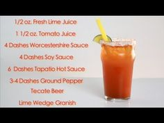 Drinks Made Easy: How To Make A Tecate Michelada