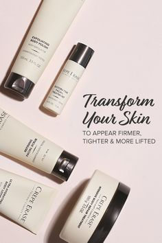 Don't hide your body.Crepe Erase® helps smooth away the signs of aging & repairs the look of loose, crepey skin on your neck, chest, arms and legs. Anti Aging Treatments, Body Treatments, Face Treatment, Makeup Eraser, First Aid Beauty, Skin Firming, Natural Skin Care, Natural Health, Beauty Tips