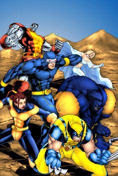 Astonishing X-men Colors by ~kaztelli