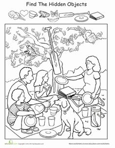 Find it and Color worksheets - Google Search