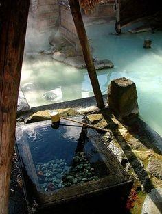 Adachiyan onsen Hot Spring - Japan. I'm sooooo going to onsen next year *0*
