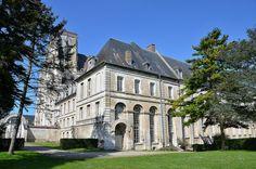 Abbaye de Saint-Riquier. Picardie