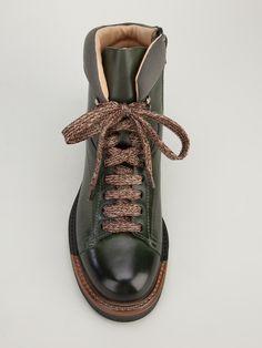 Santoni Monkey Boot hiking men's boots zipper 2
