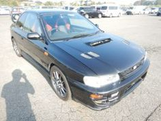 Every boy had a dream of owning one of these great JDM 1998 Subaru WRX STI at one point or another. With that great boxer engine this little Subaru's really pack a punch. Japanese Imports, Japan Cars, Wrx Sti, Subaru Wrx, Jdm, Boxer, Punch, Engine, Motor Engine