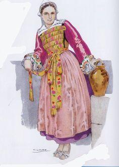 Costume de Bourg de Batz (près du Croisic)