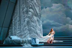 Semele. Seattle Opera. Scenic design by Erhard Rom. 2015
