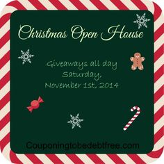 We are giving away tons of prizes on Saturday, November 1st. Come and join us!