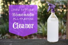 How to Make Homemade All-Purpose Cleaner and Spray Bottles That Won't Leach