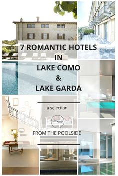 7 hotels for family stays in Lake Como, Lake Garda, Lombardy, Italy. With indoor pools for keeping the children busy. Prices starting at 79 Euros for the cheapest one (which still has a pool !)