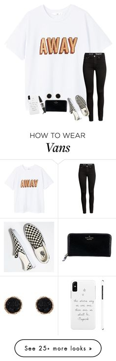 """""""today was lovely... how was yours??"""" by ctrygrl1999 on Polyvore featuring MANGO, Vans, Kate Spade, Maybelline and Humble Chic"""