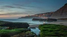 Magoito Beach in Sintra, Portugal - Google Tìm kiếm Sintra Portugal, Trip Planning, Bing Images, Waterfall, Earth, Places, Outdoor, Travel Plan, Google Search
