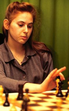 Judith Polgar 👑 by Chess Players, Beautiful World, History, Image, Beauty, Flow, Inspire, Queen, Woman