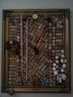 Cork board jewelry display https://www.facebook.com/jilllynchgems