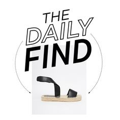 The Daily Find | Zara Espadrilles by socitychic on Polyvore featuring polyvore, fashion, style and ASOS