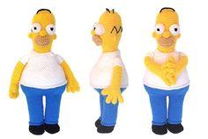 Patrón Homer Simpson – Sueños Blanditos