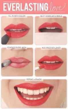 Here's how you get longer-lasting lipstick.