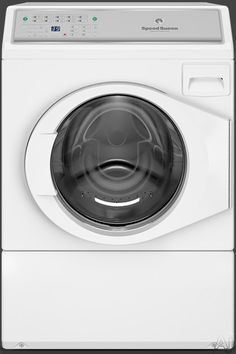 Speed Queen AFNE9BSP113TN01 27 Inch 3.42 cu. ft. Front Load Washer with 9 Wash Cycles, 1,200 RPM, Favorite Cycles Option, 440 G-Force High Speed Water Extraction, 4 Soap Compartments, Prewash, Soak, ADA Compliant and ENERGY STAR Qualified: Stainless Steel