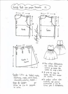 Pattern Dress for girls between the ages of 1 and 14 years (Sewing and cutting) | Magazine Inspiration Needlewoman