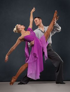 The Beautiful Jaimee Travis Tuft, Dancesport Stars.