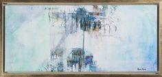 """Louise Hävre - """"Extension"""" finns att köpa hos oss på Galleri Melefors / is avialable for purchase at Galleri Melefors #louisehävre #louise #hävre #havre #art #painting #oil #interiordesign #design # #decoration #light #abstract #colors #blue #forsale #konst #målning #olja #interiör #inredning #dekoration #ljus #abstrakt #färger #blå #tillsalu #gallerimelefors #melefors"""