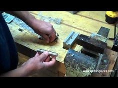 Building a Lordship A40 fishing lure - YouTube