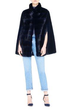 Lilly e Violetta Cape #fashion #fur #mink #cape #lillyevioletta @lillyevioletta1