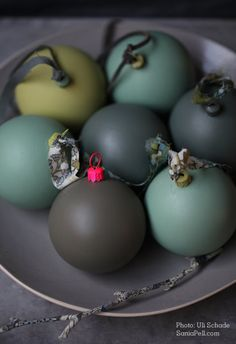 painted ornaments *(no instructions)*