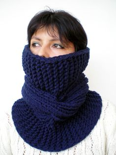 Tour Fashion   Cowl Super Soft mixed  Wool by GiuliaKnit on Etsy, $47.00