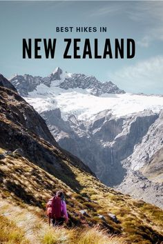 Want to know what the best hiking trails in New Zealand are? We've created a hiking guide covering the best day hikes and hikes in the North Island and the South Island. New Zealand Itinerary, New Zealand Travel Guide, Hiking Guide, Hiking Trails, Adventure Photography, South Island, Best Hikes, Travel Light, Outdoor Travel
