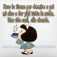"""""""Mi piace"""": 70, commenti: 6 - Mari-Sol (@mari__deep__blue) su Instagram: """"Buona notte #a domani #mafalda"""""""