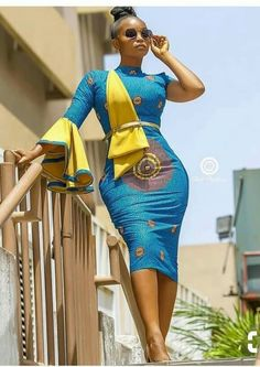 The complete pictures of latest ankara short gown styles of 2018 you've been searching for. These short ankara gown styles of 2018 are beautiful Latest African Fashion Dresses, African Print Dresses, African Dresses For Women, African Print Fashion, African Attire, African Women, Ankara Fashion, Africa Fashion, African Prints