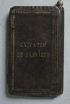 Burke's Skin Pocket Book. In the collection of medical oddities housed at the Surgeons' Hall Museum in Edinburgh lies a tattered pocketbook. It's dark brown, nearly black, with a pebbled texture and gold lettering that has begun to fade with age. Upon closer inspection, the words 'EXECUTED 28 JAN 1829' and 'BURKE'S SKIN POCKET BOOK' come into focus, revealing the item's true origins. This is a book bound in the skin of William Burke, the notorious murderer and body snatcher of Burke & Hare…