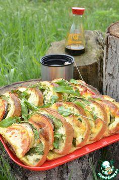 Бутерброды «Закусочные» сырно-овощные - кулинарный рецепт