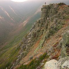 A Storm at Bondcliff / New Hampshire / White Mountains / US