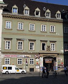 Palais Pálffy (English: Pálffy Palace) is a palace located on Josefsplatz in the Innere Stadt first district in Vienna, Austria. It was once owned by the notable noble Pálffy family.  Today, the building is used for live-music performances.  The Palais Pálffy is also home to the Phantasten Museum and The Vienna Academy of Visionary Art.